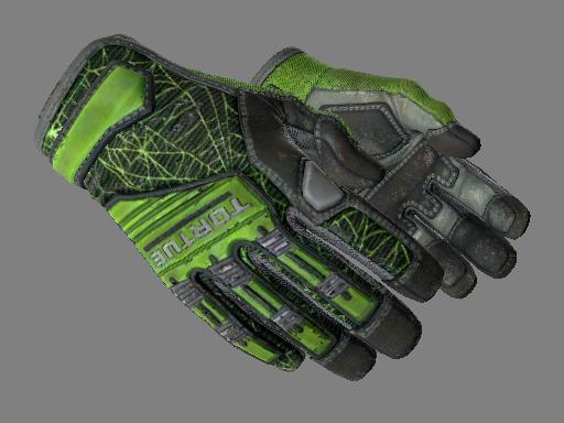 专业手套(★)   翠绿之网